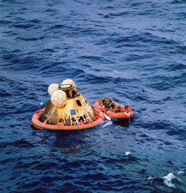 Amerizaje de la cápsula, 24 de julio de 1969