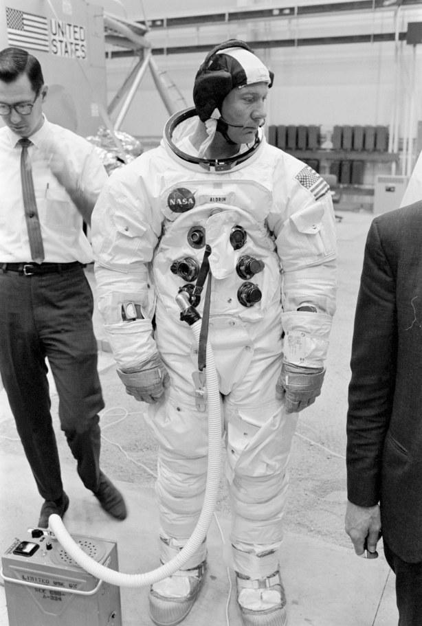 Entrenamiento de Buzz Aldrin, abril de 1969