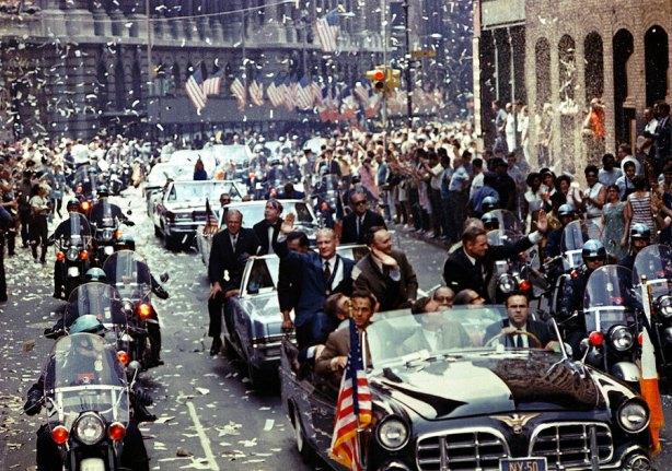 Homenaje a los astronautas, septiembre de 1969