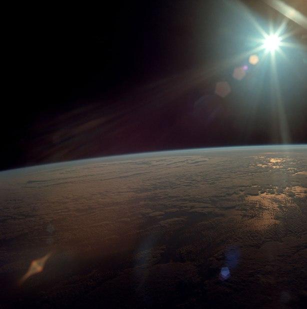 En órbita alrededor de la Tierra