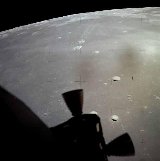 Aproximación final del Módulo Lunar