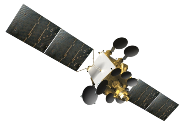 AMOS-4-Deployed-in-Space